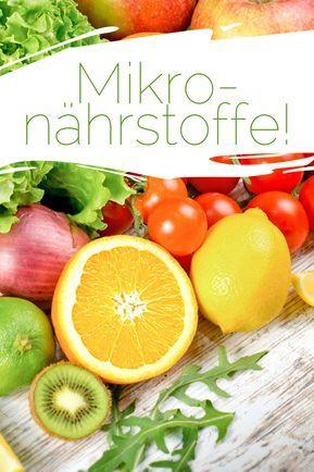 Health Talk: Mikronährstoffe - Vitamine, Mineralstoffe, Spurenelemente & Sekundäre Pflanzenstoffe!
