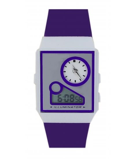 FAP Purple Digital Women Watch