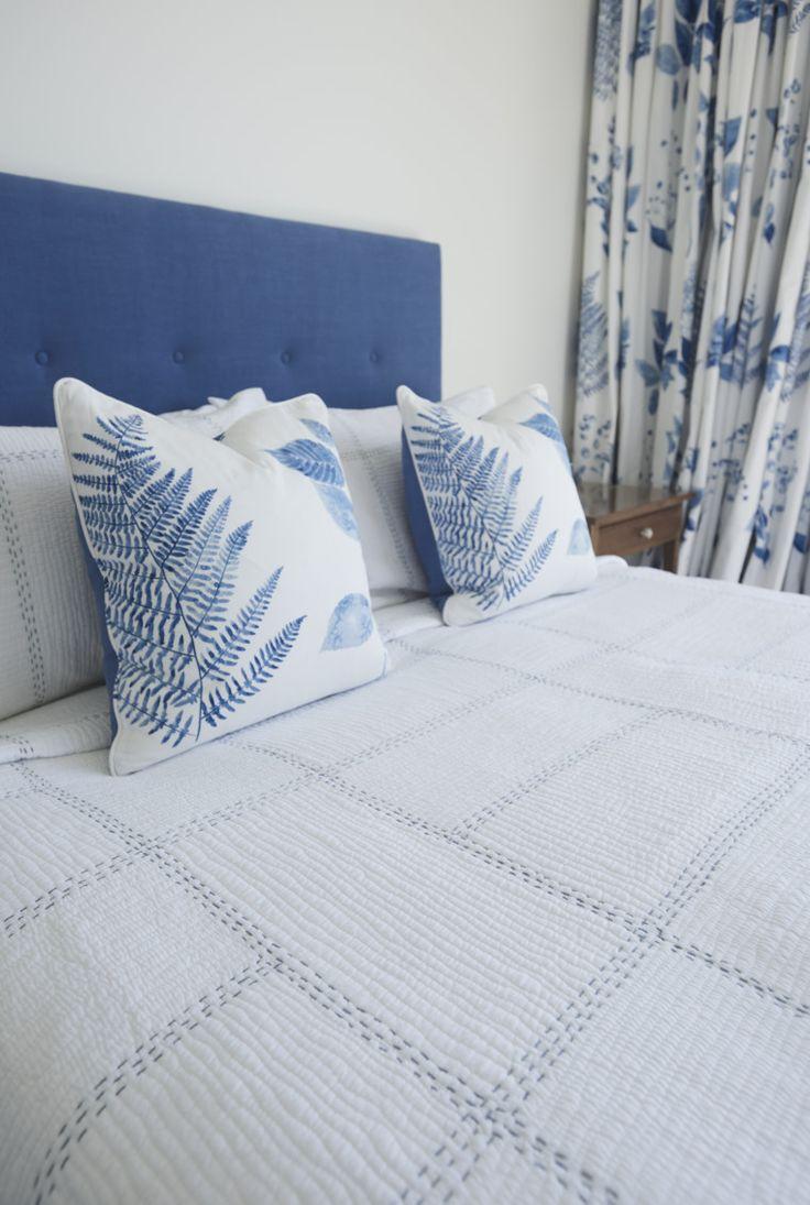 Bedhead Custom Made#designersguild#costalinteriors #curtains #upholstery # #interiordesign #homedecorating#bedroom