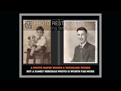 Restoring Old Photographs