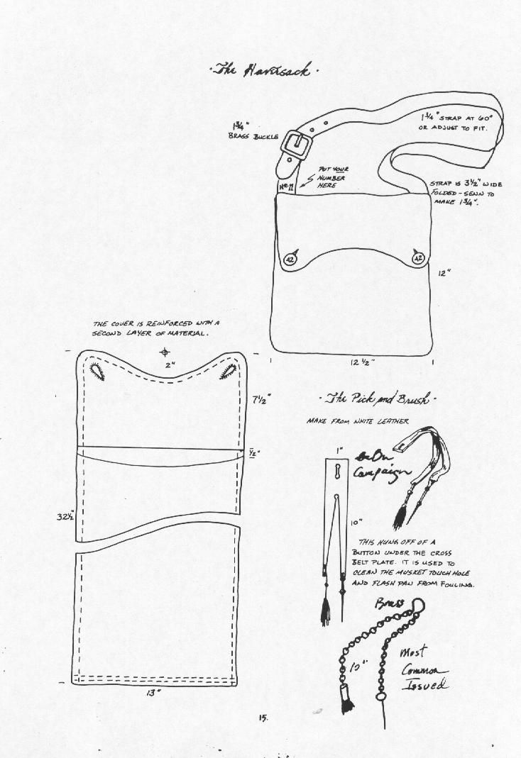 """Basic idea of how to make the simple satchel called the """"bread bag"""""""