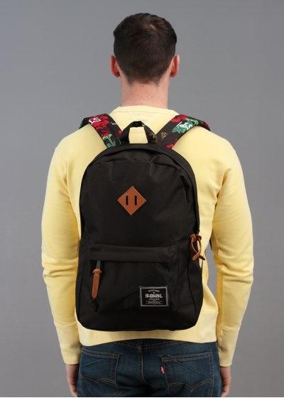 Stussy x Herschel Heritage Backpack - Black