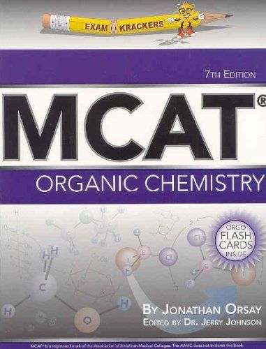 21 best examkrackersat images on pinterest med school buy examkrackers mcat organic chemistry by jonathan orsay 1949 save 35 off fandeluxe Image collections
