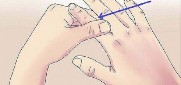 Presiona el dedo Índice 60 Segundos, y esto le sucederá a tu cuerpo | LikeMag | We like to entertain you