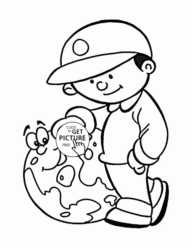 love earth day coloring pages - photo#26