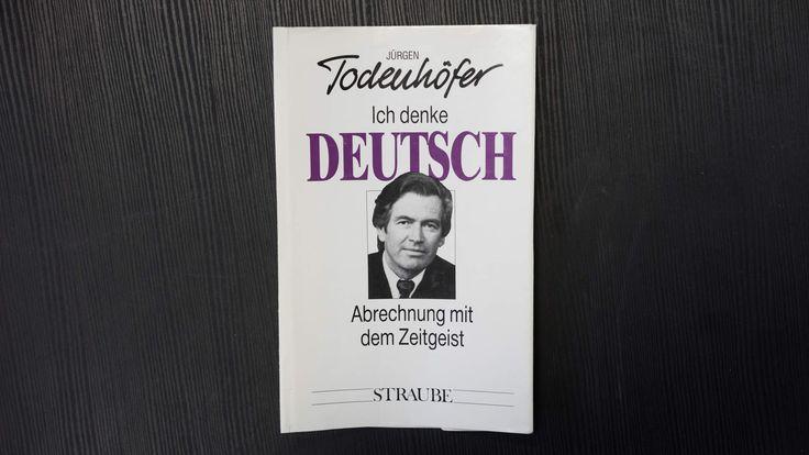 Jürgen Todenhöfer denkt deutsch