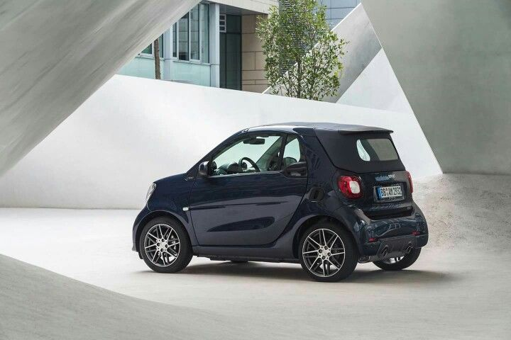 Smart ForTwo Cabrio A453 Brabus