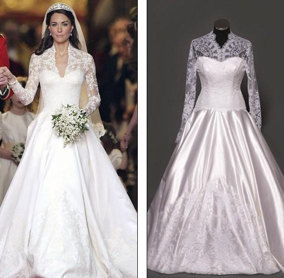 Принцесса кейт свадебное платье