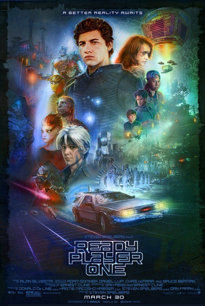 Fromdirectorstevenspielberg Sadly I Don T Know Who The Artists Is But Here S Some New Ready Player One Ready Player One Player One Ready Player One Movie