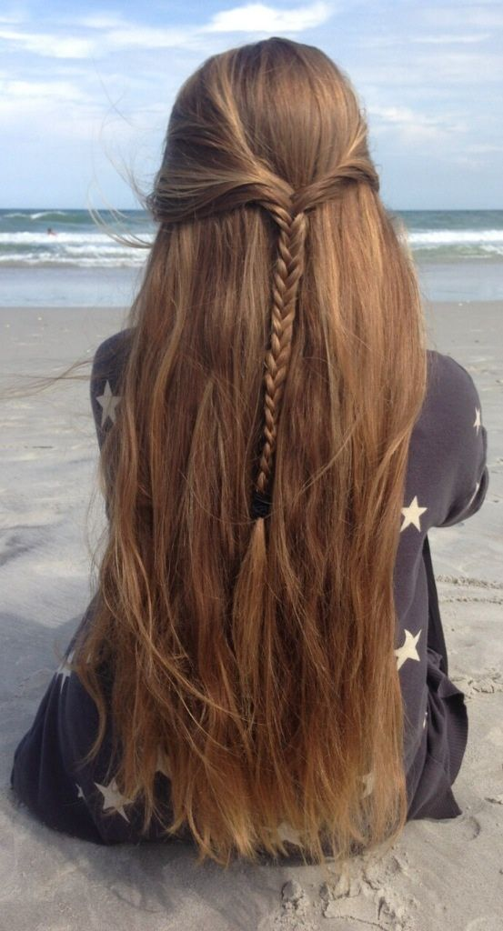 style | hair - beautiful long hair - style + color