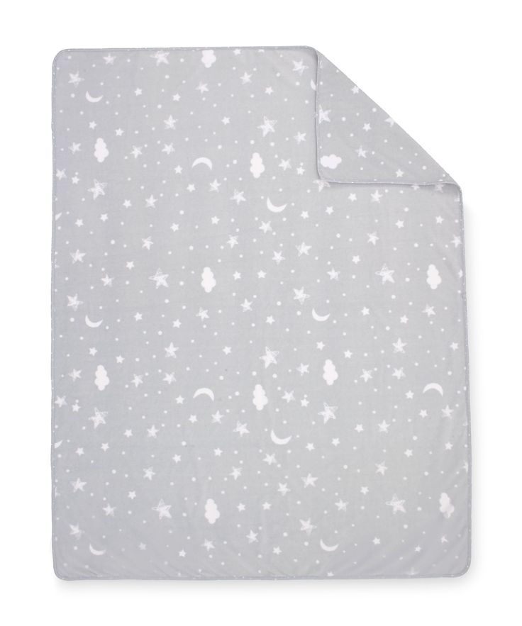 Mothercare Lullaby Moon Fleece Blanket