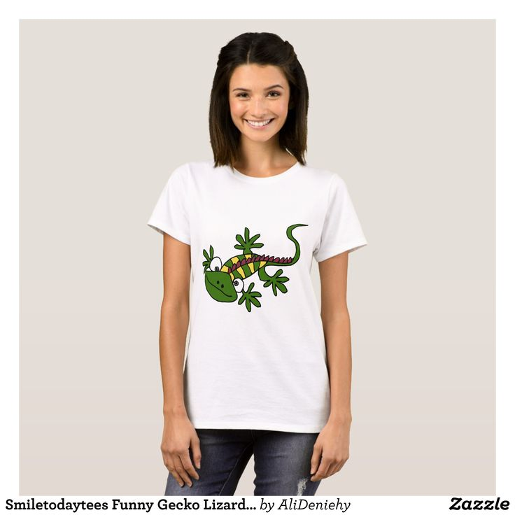 Smiletodaytees Funny Gecko Lizard Cartoon disneyT- T-Shirt - Fashionable Women's Shirts By Creative Talented Graphic Designers - #shirts #tshirts #fashion #apparel #clothes #clothing #design #designer #fashiondesigner #style #trends #bargain #sale #shopping - Comfy casual and loose fitting long-sleeve heavyweight shirt is stylish and warm addition to anyone's wardrobe - This design is made from 6.0 oz pre-shrunk 100% cotton it wears well on anyone - The garment is double-needle stitched at…