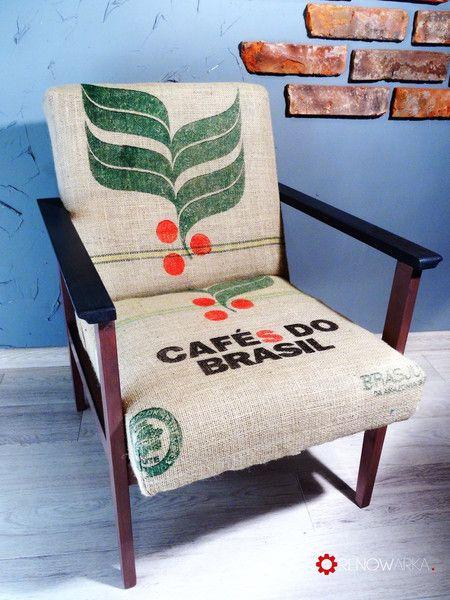 Armchair Cafe Renowarka- Fotel PRL 70's w RENOWARKA na DaWanda.com