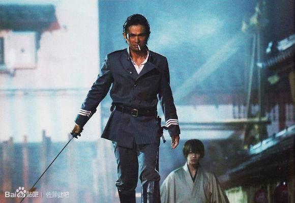 Hajime Saito (Yosuke Eguchi) the most badass policeman ever.