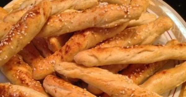 Baked Sesame Bread Sticks Recipe.    You will love this easy homemade bread recipe for Baked Sesame Bread Sticks. This easy bread recipe doesn't take a long time to rise so you can have fresh bread sticks on the table in no time.    CLICK VISIT for FULL RECIPE!
