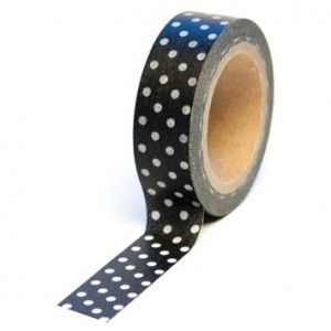 Paper Tape: Black Dot Pretty Party Styling Essentials