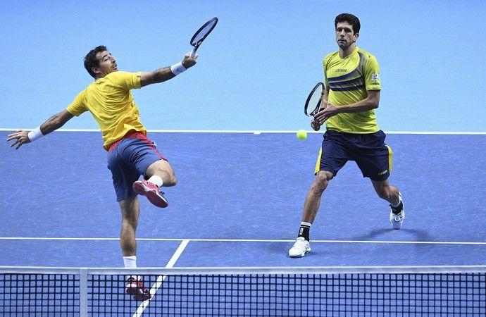 Marcelo Melo e Ivan Dodig x Max Mirnyi e Treat Huey (FIL) - ATP Finals (Foto: EFE)