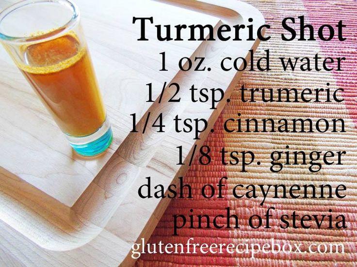 Tumeric Shot