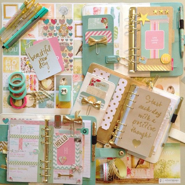 mancthatter: Spending the afternoon doing a bit of planning with @sleepyjeanw as you can see we are huge fans of the @websterspages #colorcrush #planner #plannerlove #planneraddict #stationary #stationarylove #stationaryaddict #pen #washi #washitape #stickers #teal #gold #pink #bow #projectlife #journal #journalcards #pretty #organiser #filofax #fountainpen