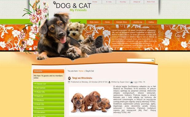 #Joomla : Free Joomla 3.0 Template Pets