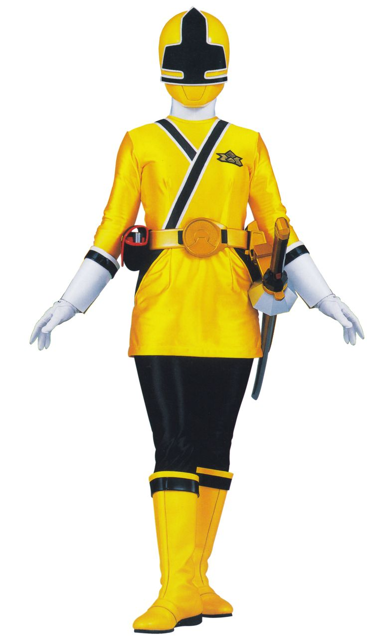 good power ranger costumes (yellow ranger) - Google Search