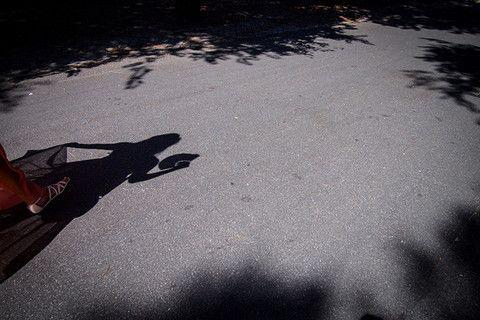 Shadows in Villa Borghese