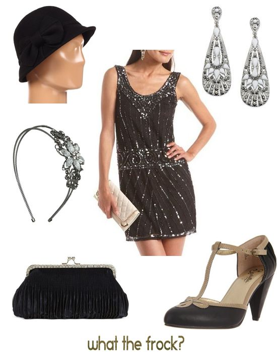 Great Gatsby look--- I need this for my semi-formal!