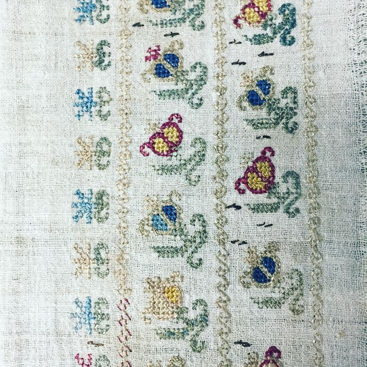 """19th century Turkish embroidery textile. #antique  #textiles #galleries #antiquetextilesgalleries  @antiquetextilesgalleries  #madeintheusa #handmade…"""