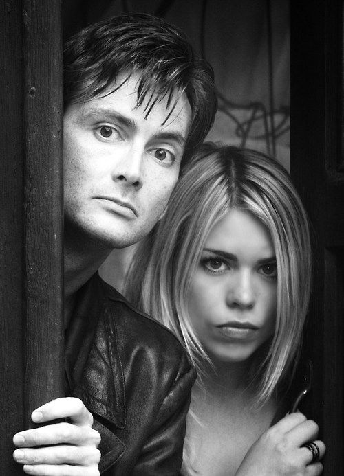 The Doctor and Rose Tyler - As it should be.