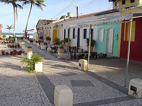 Porto Seguro, Bahia - Brasil - Passarela do Álcool