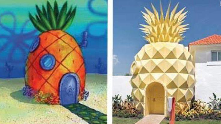 KURIOS: Sechs reale Häuser aus Filmen & Serien, in denen ihr wirklich wohnen könnt!  Wer wohnt schon in einer Ananas ganz tief im Meer? Okay, das mit dem Meer ist schwierig, aber ihr könnt tatsächlich in einer Ananas wohnen. Und es geht noch doller. >>> https://www.film.tv/go/37586-pi  #WTF #Spongebob #Hausbau