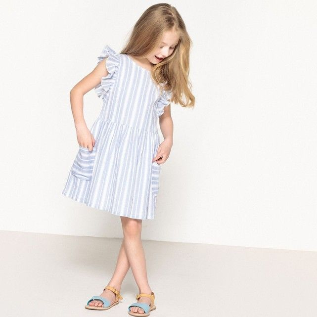 b50297f688db83 Robe rayée 3-12 ans La Redoute Collections | La redoute Kid Fille ...