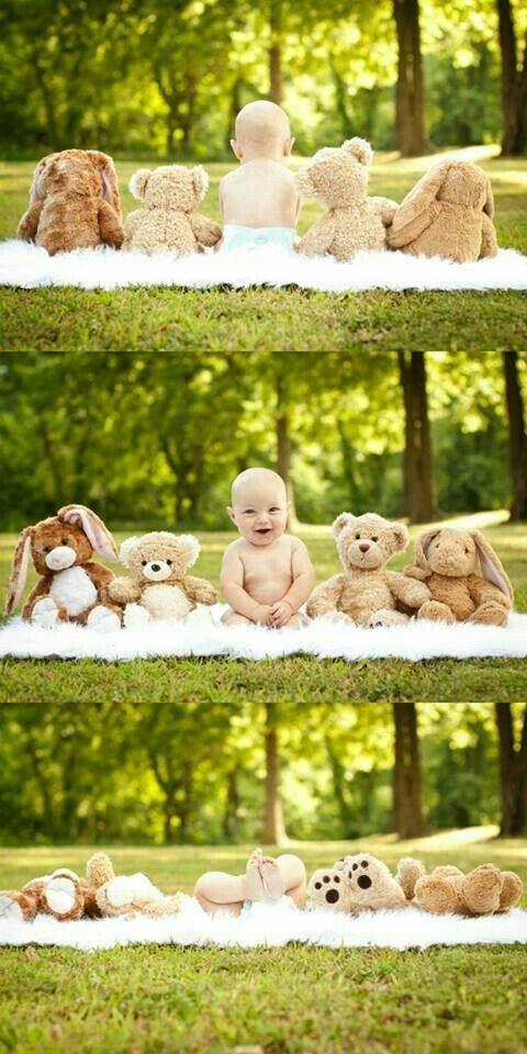 Und das für das neue Baby. Wir hätten in einem Jahr entsprechende Fotos gemacht – Babybauch Shooting – Baby Ideen