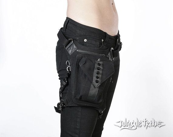 VEGAN FRIENDLY nite rider hip and waist bag by JungleTribe on Etsy