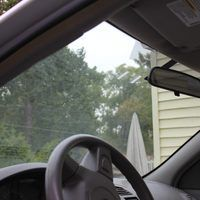 Cleaning the inside of a car windshield is important to improve visibility. However, because of the angle of the windshield and the position of the dashboard, it can be a challenge to clean it thoroughly. Fortunately, the best way to clean windshield interiors is very inexpensive.Then, once you've cleaned the windshield, check out how to [make...