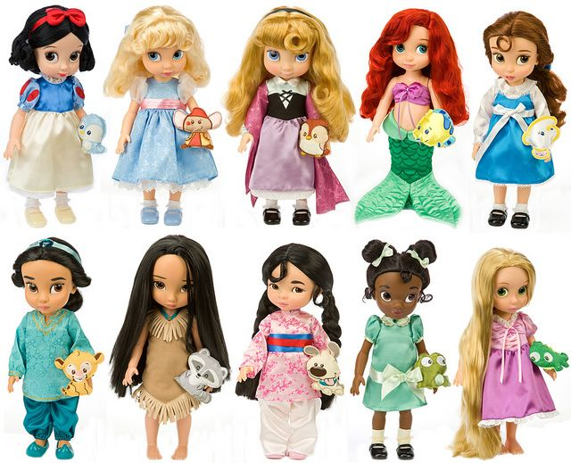 Disney Princess Glamorous Fashion - Belle | Disney Animators Collection: Disney Princess Toddler Dolls