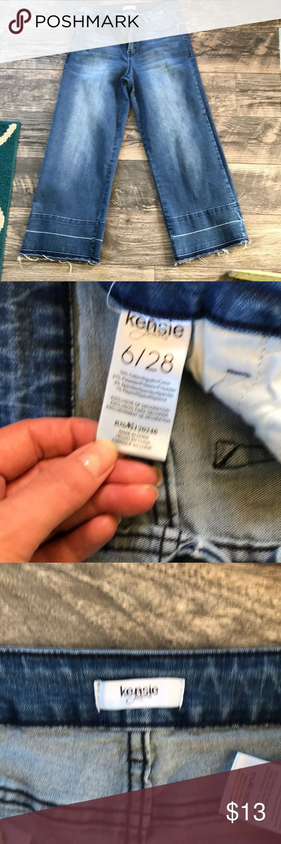 KENSIE JEANS SIZE 6 Ankle jeans 👖 used a handful of times 🌺💐🌹👠🌸👖 Kensie Jeans Ankle & Cropped