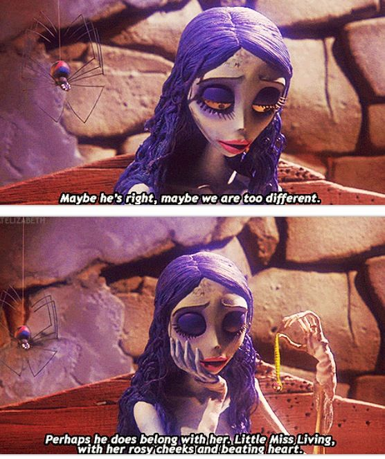 Corpse Bride. One of my favorite movies of all time!