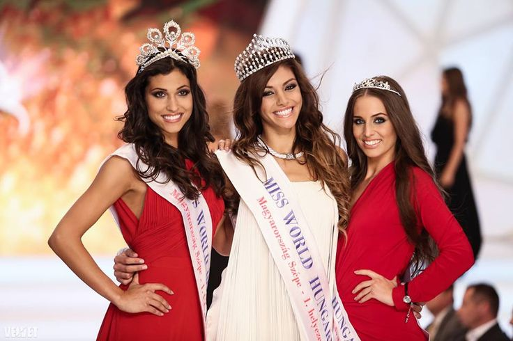 Edina Kulcsár Crowned Miss World Hungary 2014
