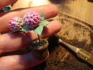 Привет всем!   Мне очень нравятся розовые гортензии.  Голубые гортензии  я сделала раньше.  Ксаня  и Conny  просили показать, как я их д...