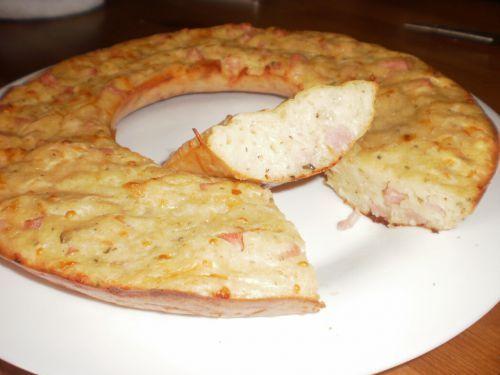 Gâteau au jambon et au comté - POIDS PLUME ET GOURMANDISES!