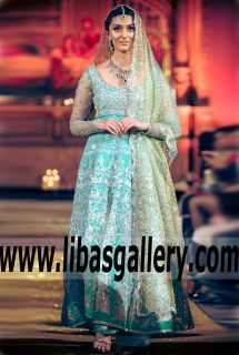 Marvelous Pakistani Designer Dress with Pretty Anarkali Gown for Engagement and Formal Events - How do you feel about this trend? Would you opt for color or stay traditional? www.libasgallery.com #UK #USA #Canada #Australia #France #Germany #SaudiArabia #Bahrain #Kuwait #Norway #Sweden #NewZealand #Austria #Switzerland #Denmark #Ireland #Mauritius #Netherland #Partywear #SpecialOccasionDresses #SpecialOccasionDress #style #latest 💕 #newcollection #bridesmaid #bridesmaids #clothes #clothing