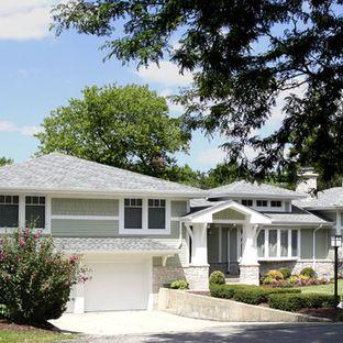 45 best split level exterior interior remodel images on for Exterior design ideas for split level house