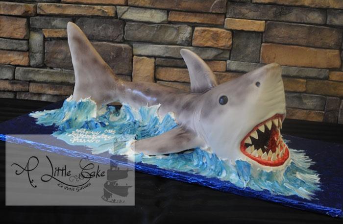 3D Shark Cake
