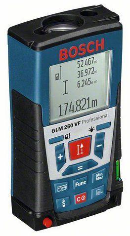 GLM 250 VF Medidor de Distância a Laser GLM 250 VF Medidores de distância Instrumentos de Medição | Bosch ferramentas elétricas para profissionais