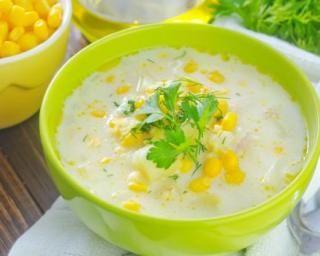 Soupe de maïs minceur crémeuse : http://www.fourchette-et-bikini.fr/recettes/recettes-minceur/soupe-de-mais-minceur-cremeuse.html