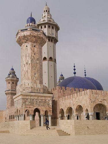 Africa |  Sights and Sounds.  Touba Mosque, Senega