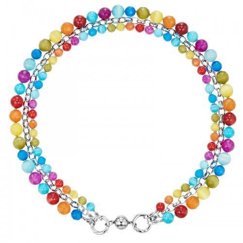 KAGI Colour Me Cascade Necklace 55cm