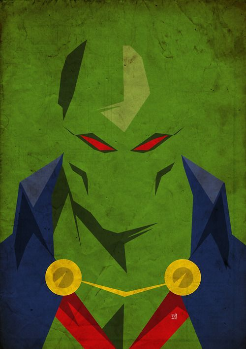 Martian Manhunter is one of my favorite superheroes, and I don't think he gets enough love. - Visit to grab an amazing super hero shirt now on sale!