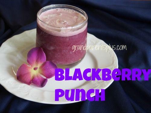Purple Wedding Shower - Blackberry Punch
